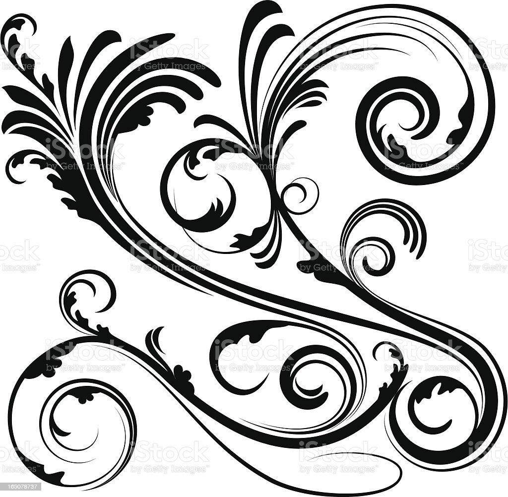 decorative scrollwork decorative scroll stock vector art 165078737 istock