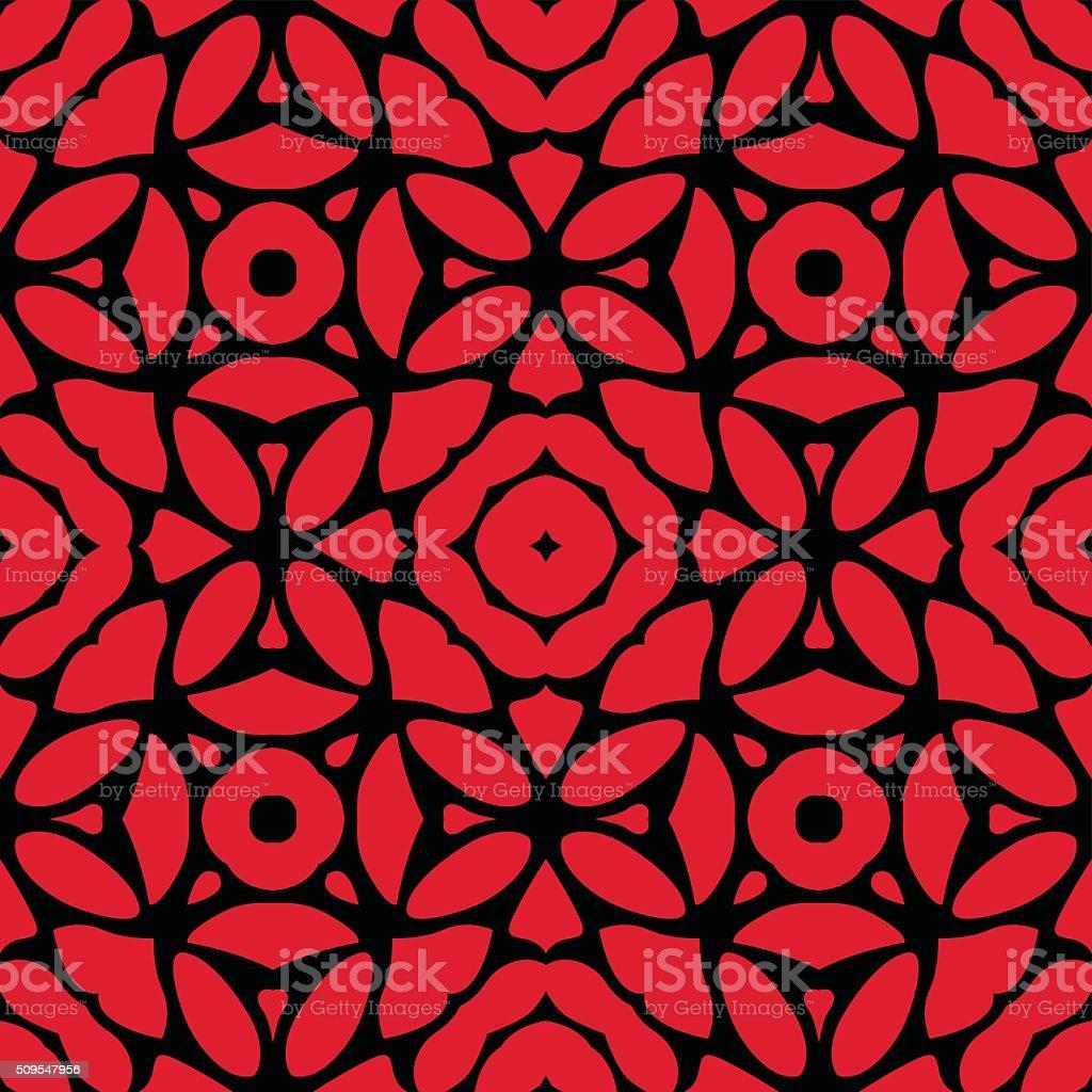Decorative Seamless Vector Pattern vector art illustration