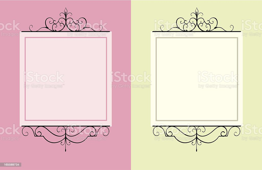 Decorative signs royalty-free stock vector art