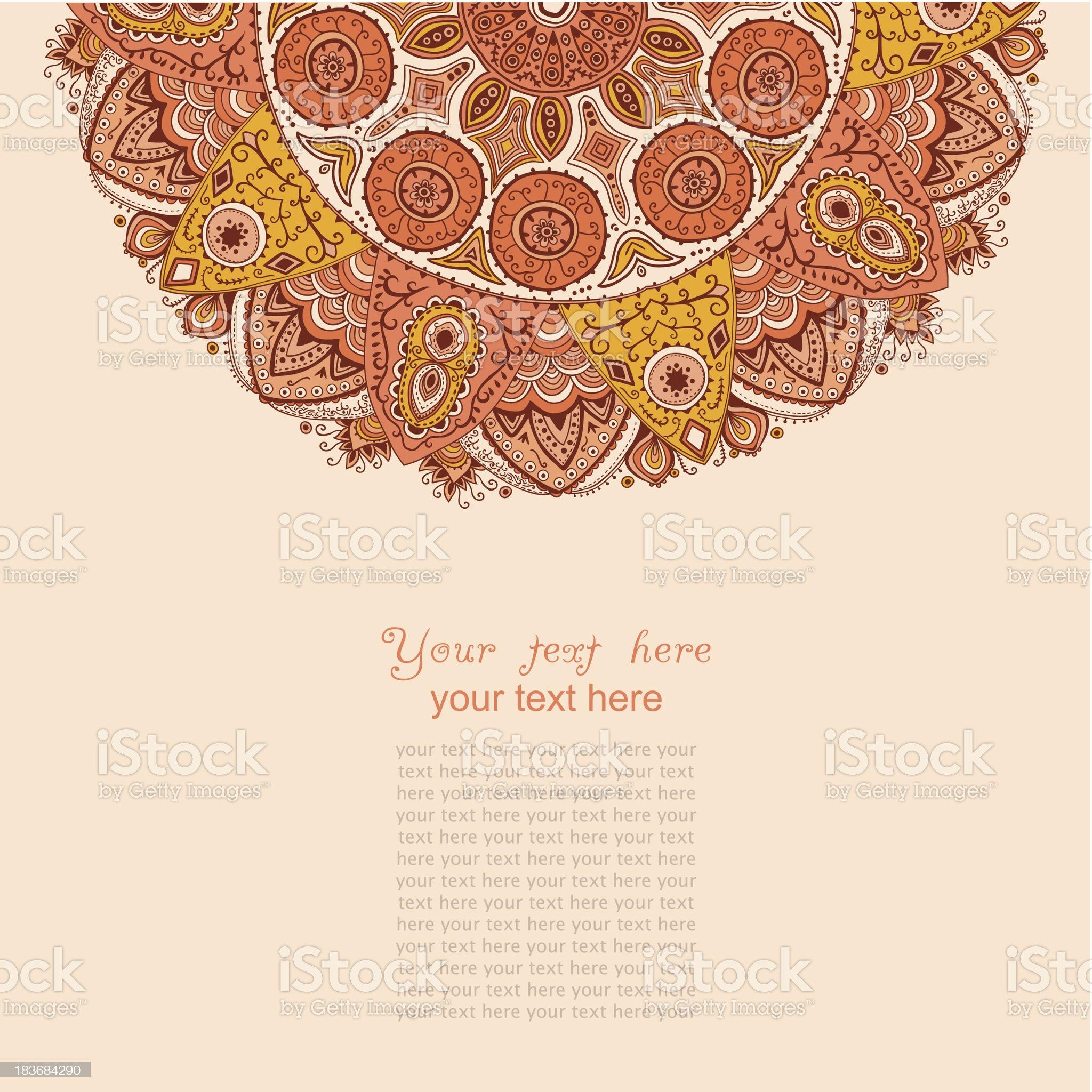 Decorative Vintage Design Element royalty-free stock vector art