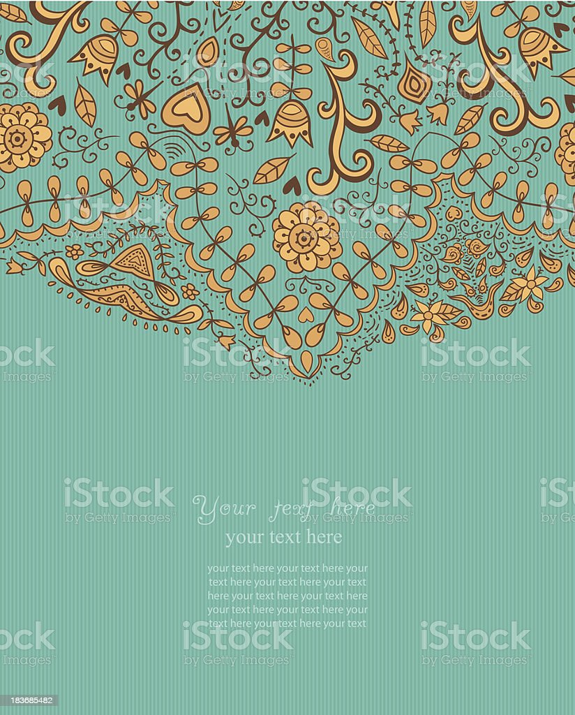 Decorative Vintage Design Element royalty-free stock vector art