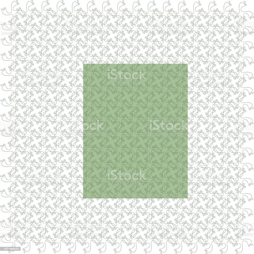 Decorative Wallpaper royalty-free stock vector art