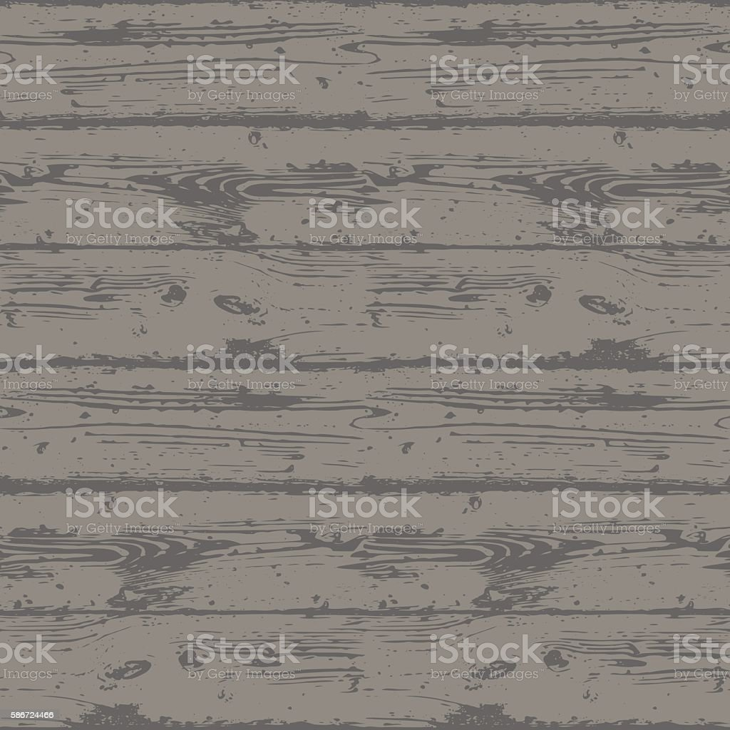 Decorative Wooden Seamless Pattern. vector art illustration