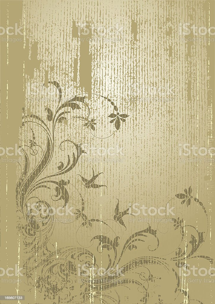 Deep Antique Page royalty-free stock vector art