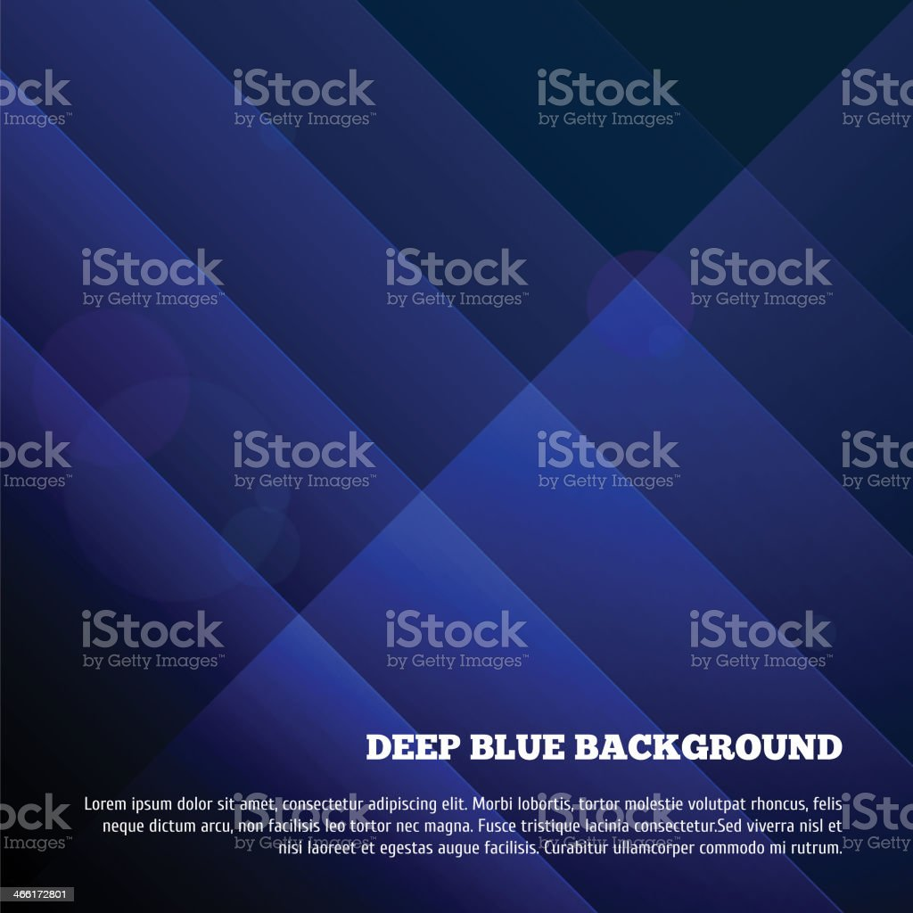 Deep blue background royalty-free stock vector art