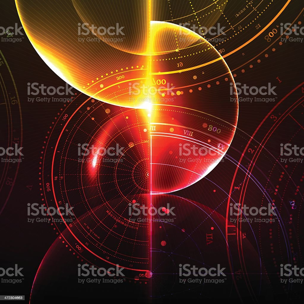 Deep Space royalty-free stock vector art
