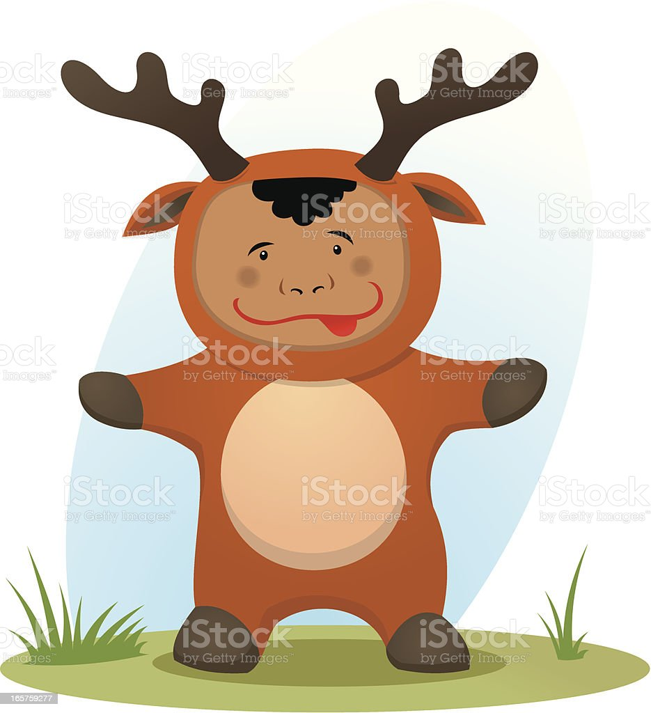 Deer baby royalty-free stock vector art