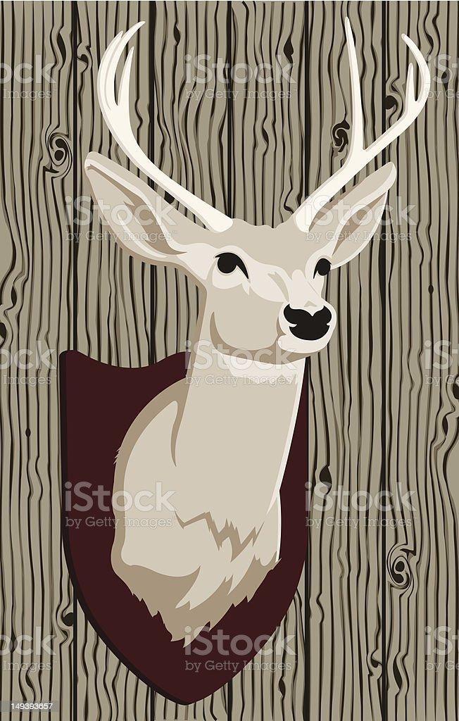 Deer Head royalty-free stock vector art