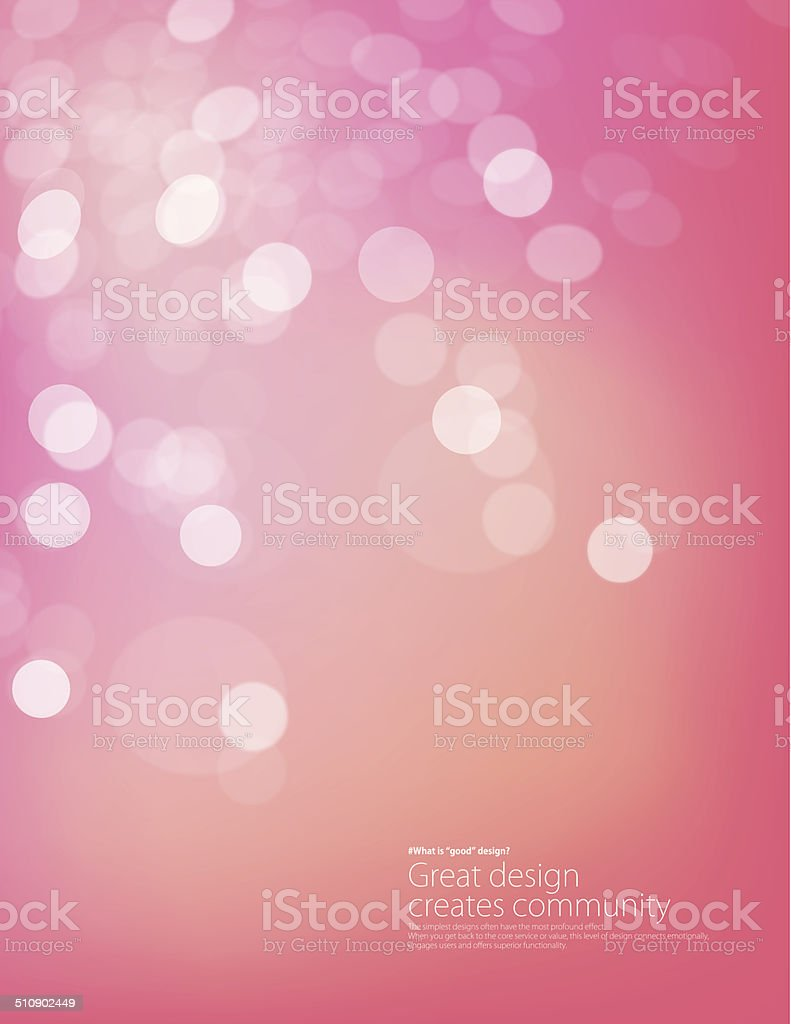 Defocus background vector art illustration