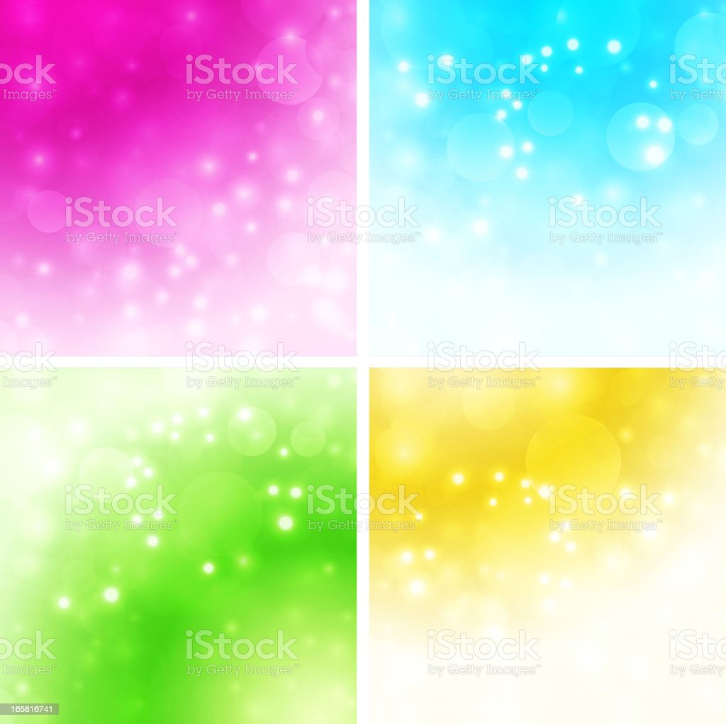 Defocused background royalty-free stock vector art