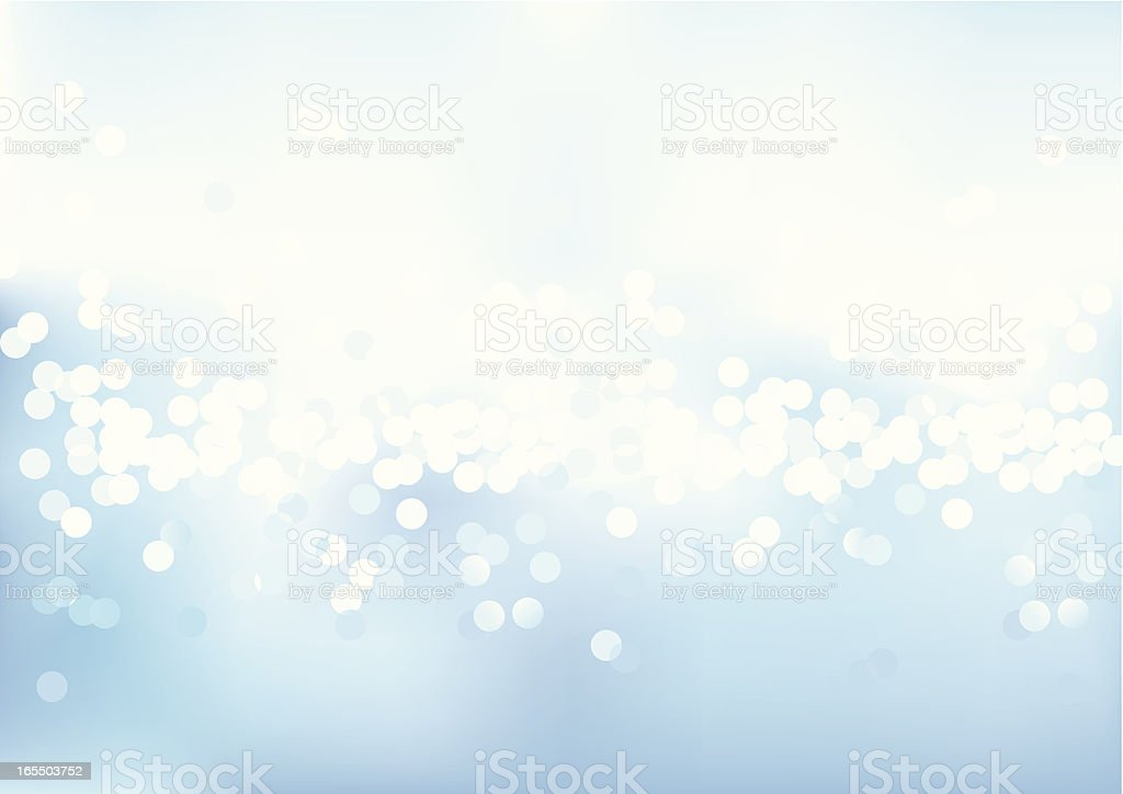 Defocused Blue Light royalty-free stock vector art