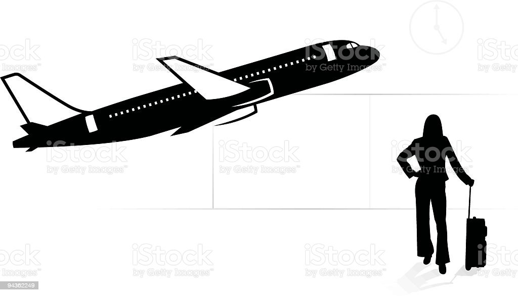 Delayed - Jet Series royalty-free stock vector art