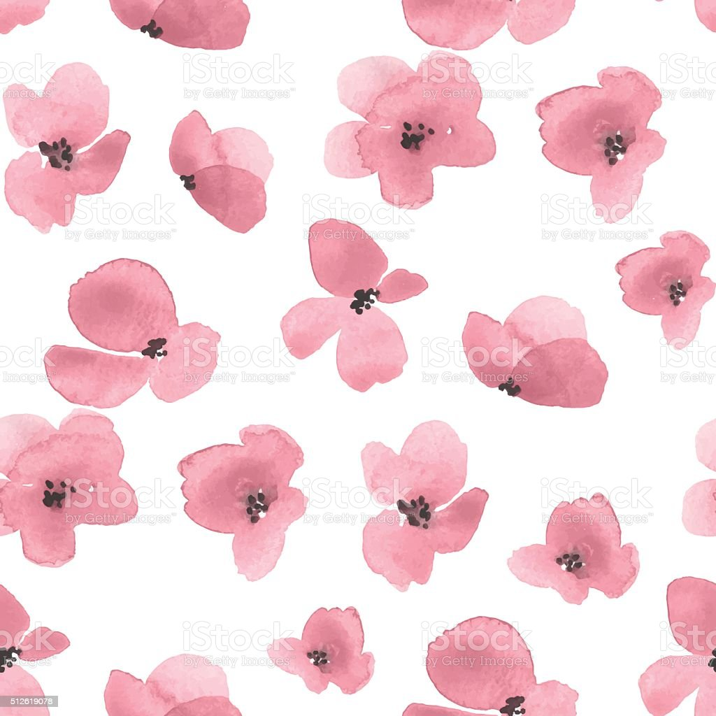 Delicate floral background 2 in vector vector art illustration