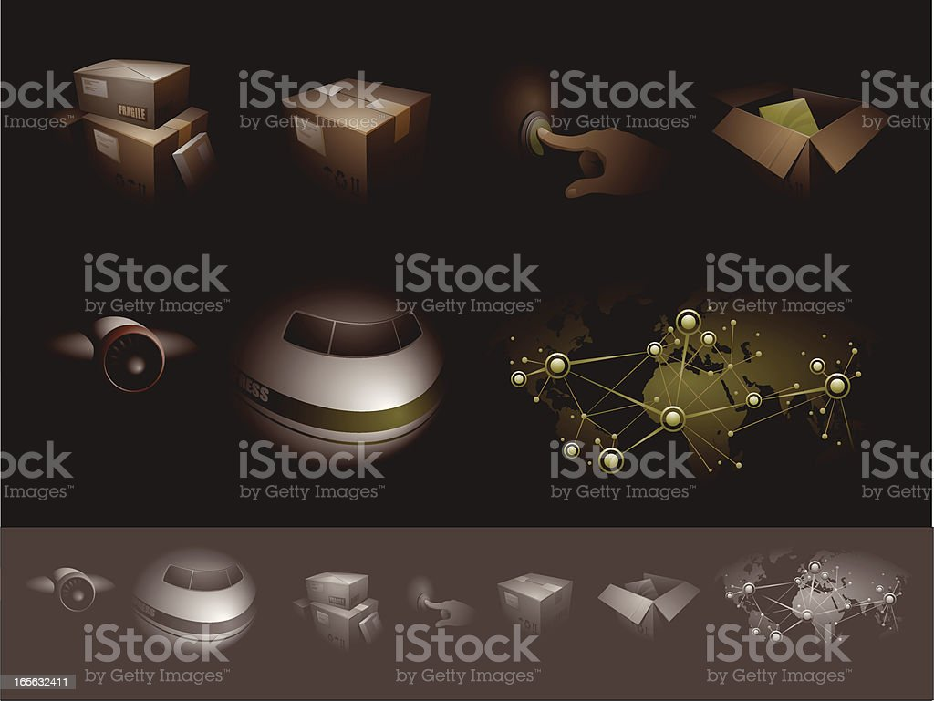 Delivery Business royalty-free stock vector art