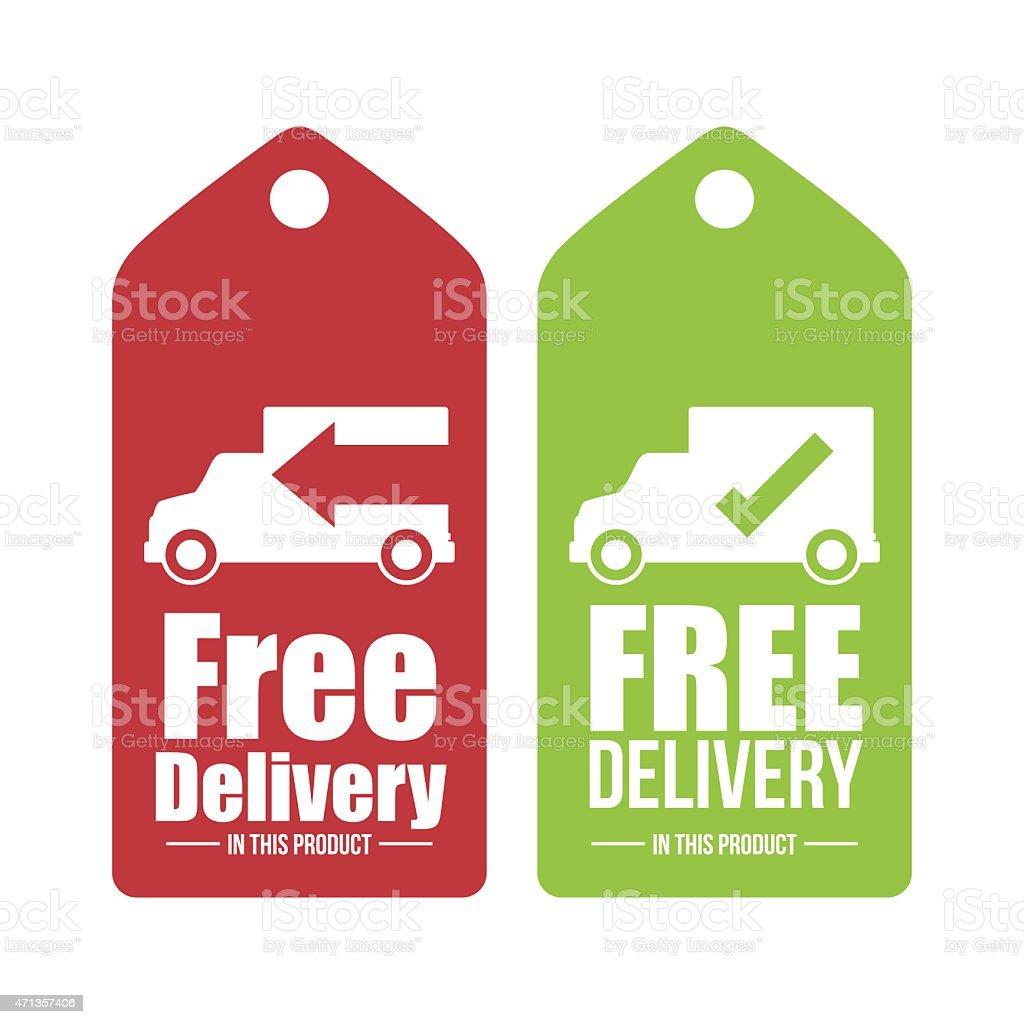Delivery design. vector art illustration