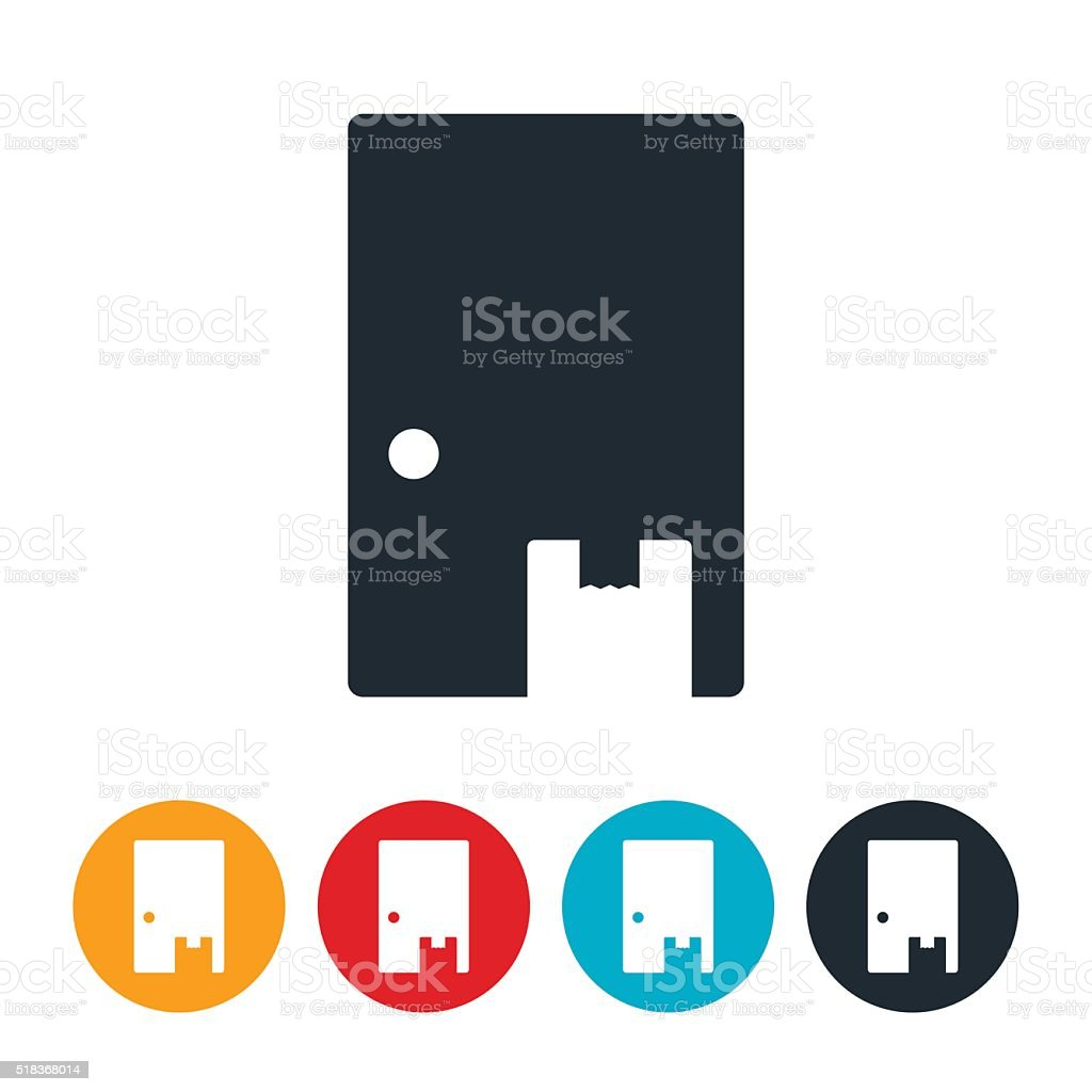 Delivery Icon vector art illustration
