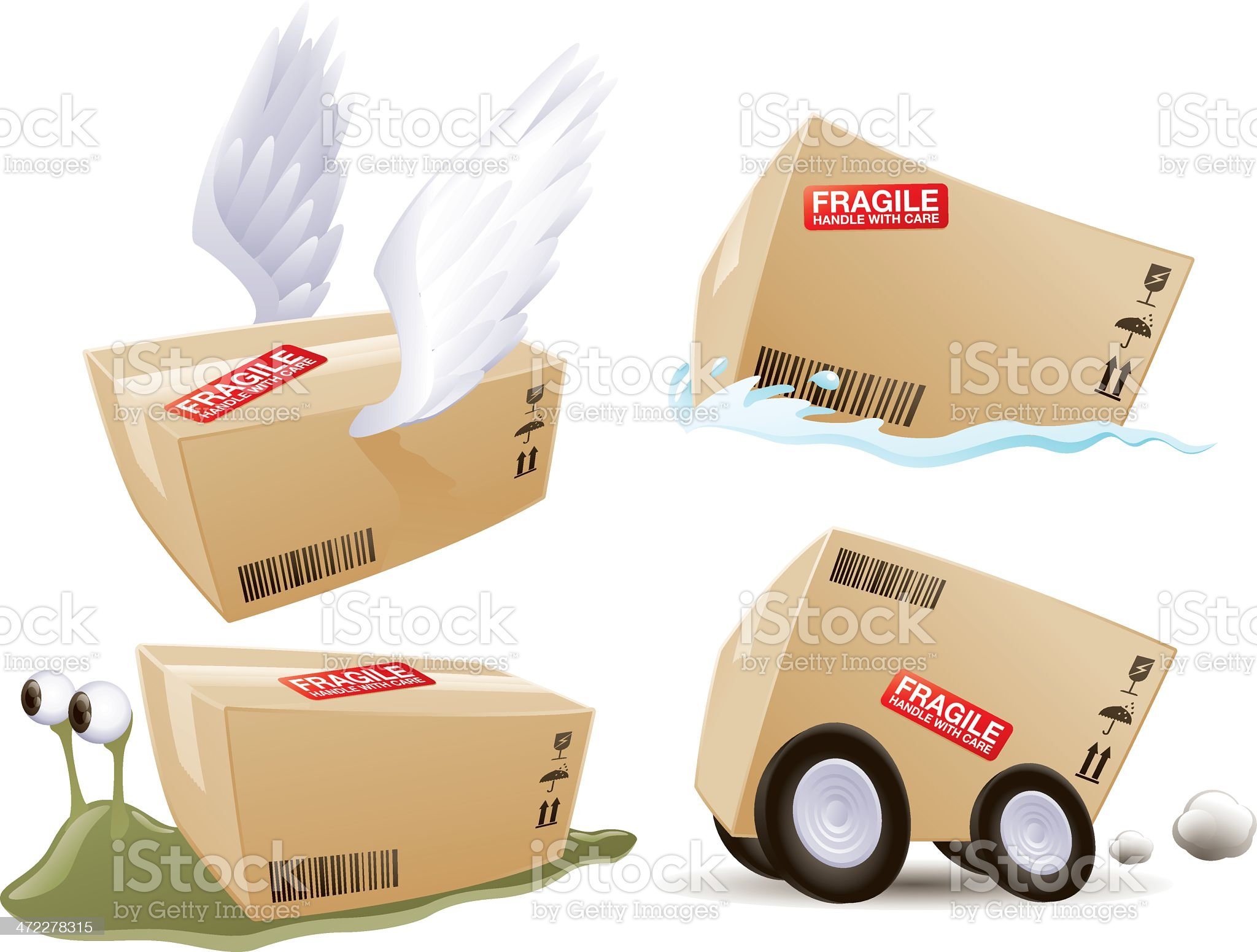 delivery royalty-free stock vector art