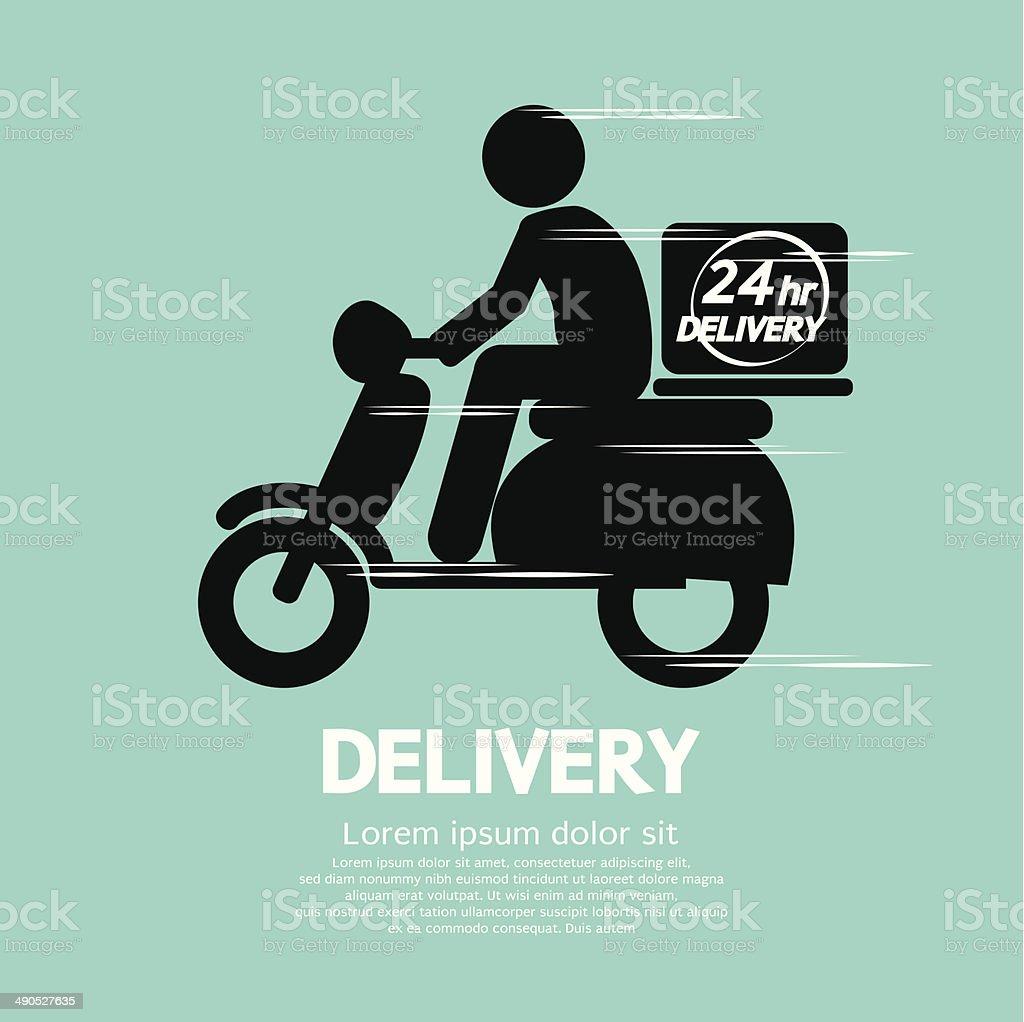 Delivery vector art illustration