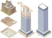 Demolition and Construction Illustration