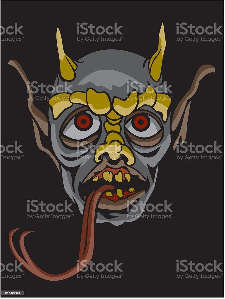 Demon royalty-free stock vector art