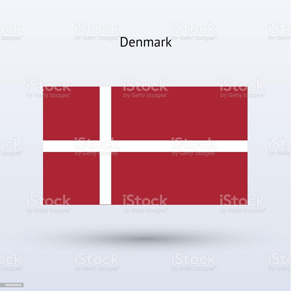 Denmark Flag royalty-free stock vector art