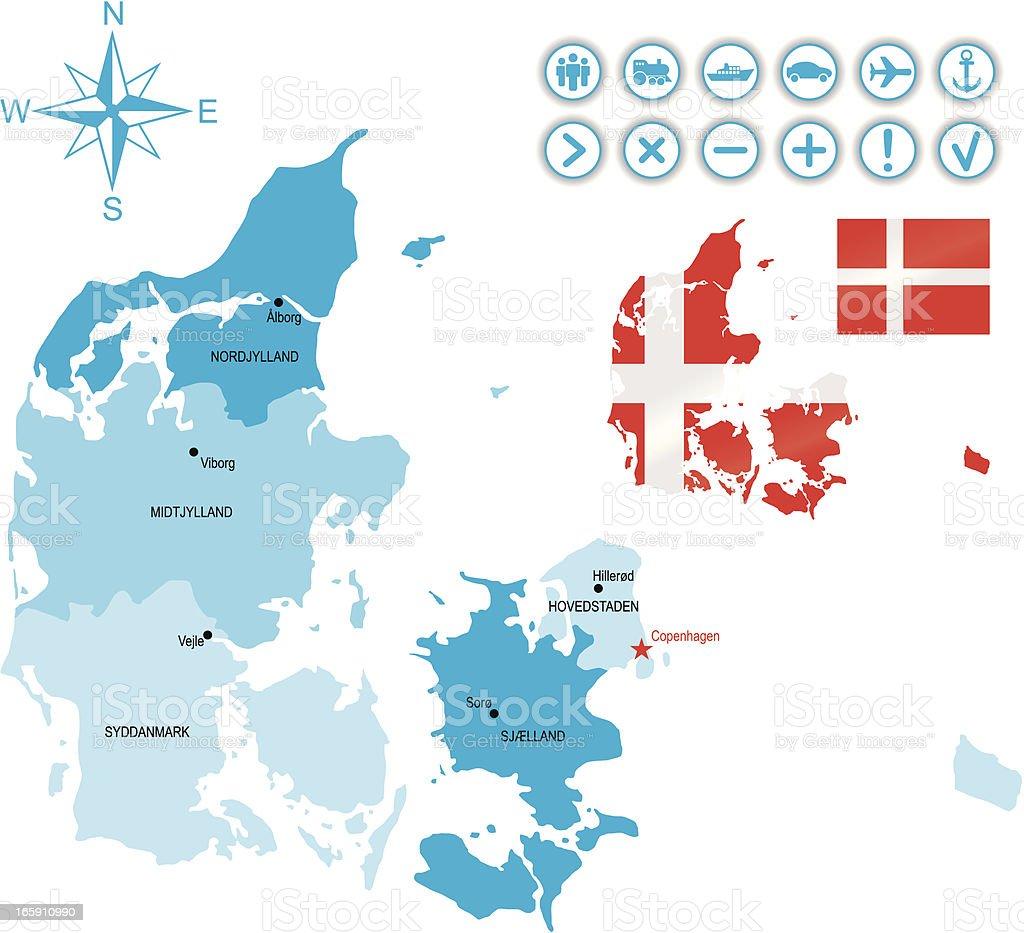 Denmark royalty-free stock vector art