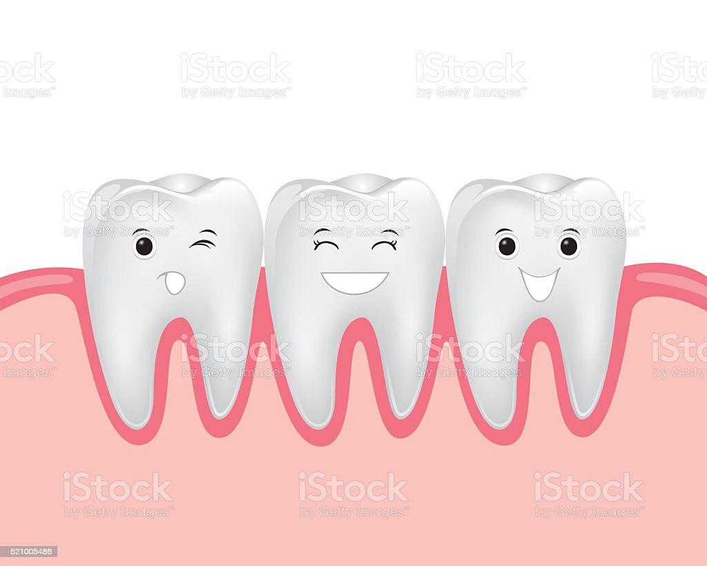 dental cartoon vector vector art illustration