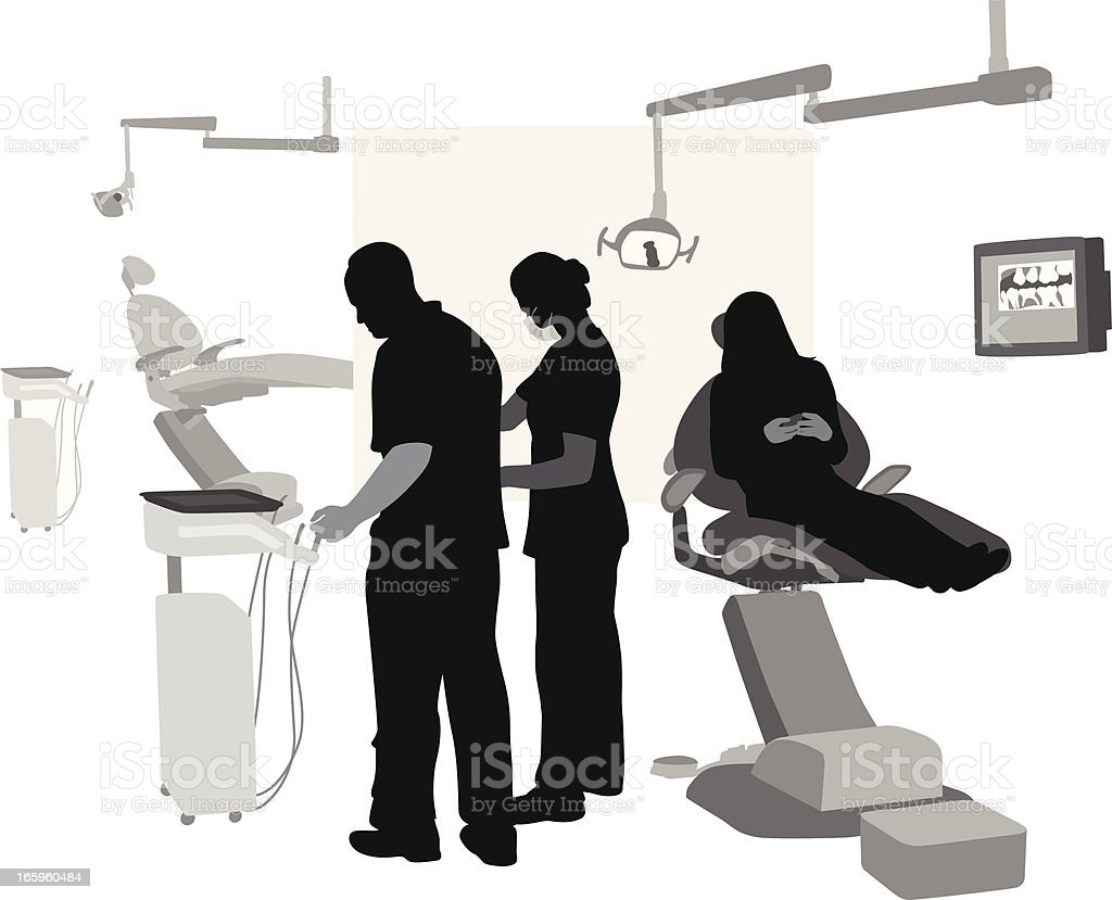 Dental Help royalty-free stock vector art