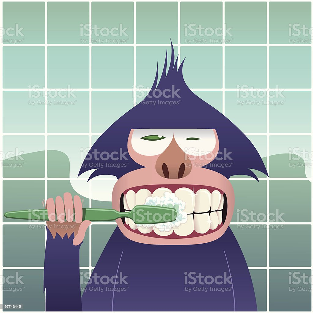 Dental Hygiene vector art illustration
