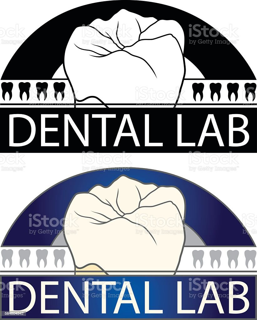 Dental Lab vector art illustration