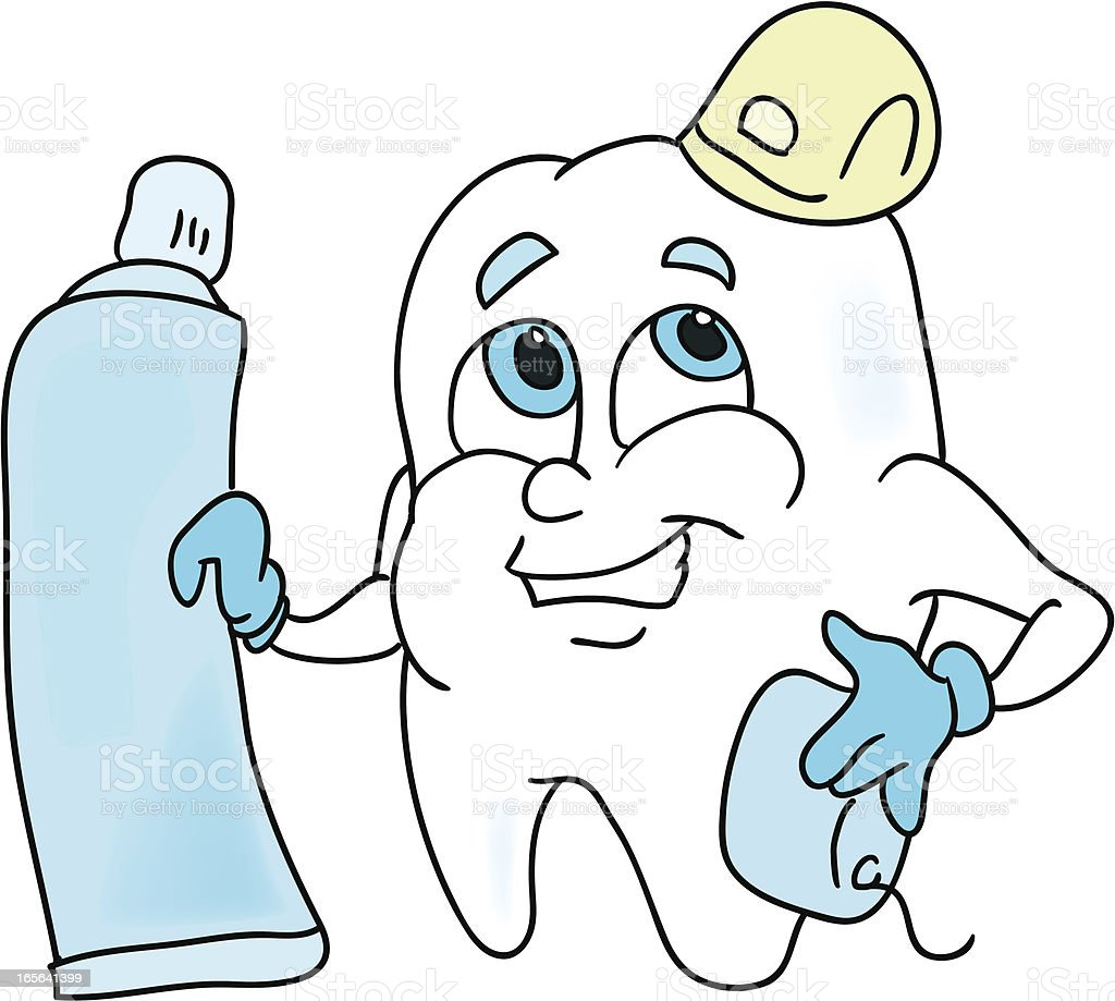 Dental Work royalty-free stock vector art