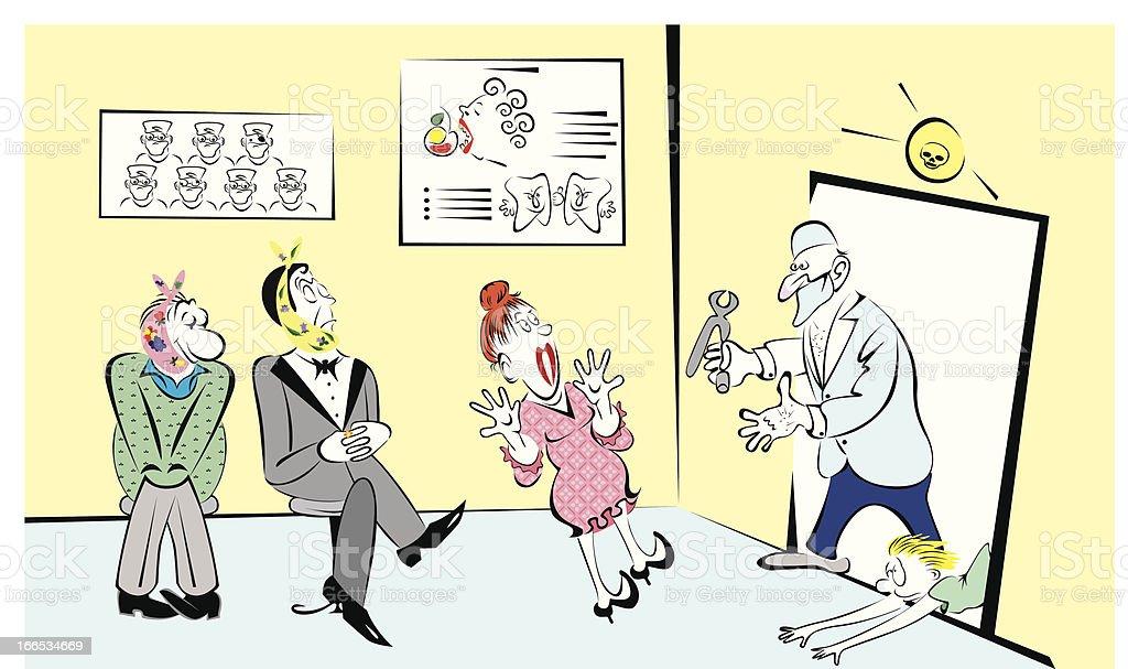 Dentist. royalty-free stock vector art