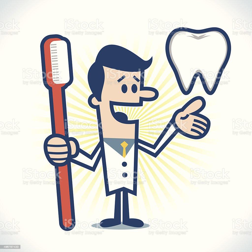 Dentist royalty-free stock vector art
