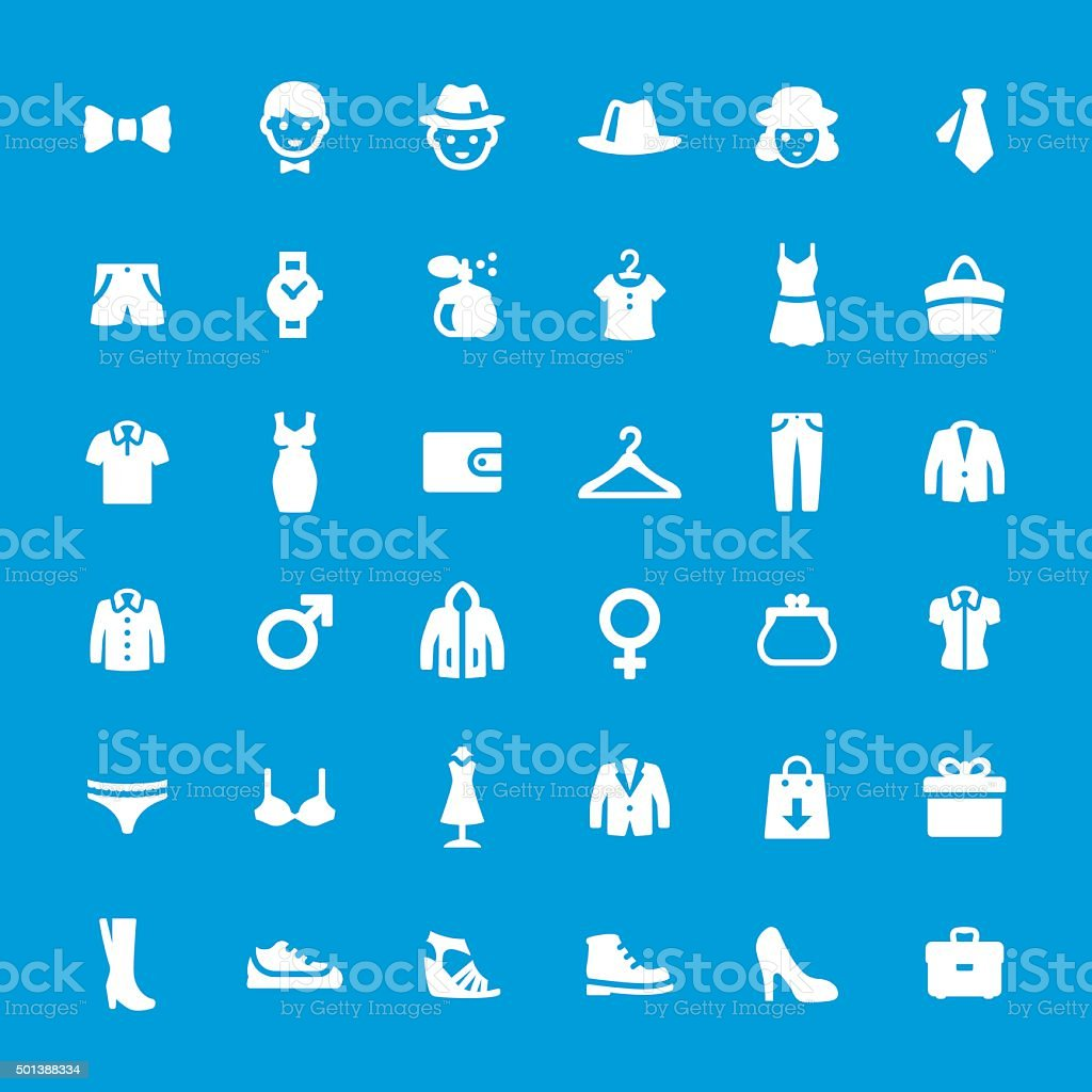 Department Store related vector icon set vector art illustration