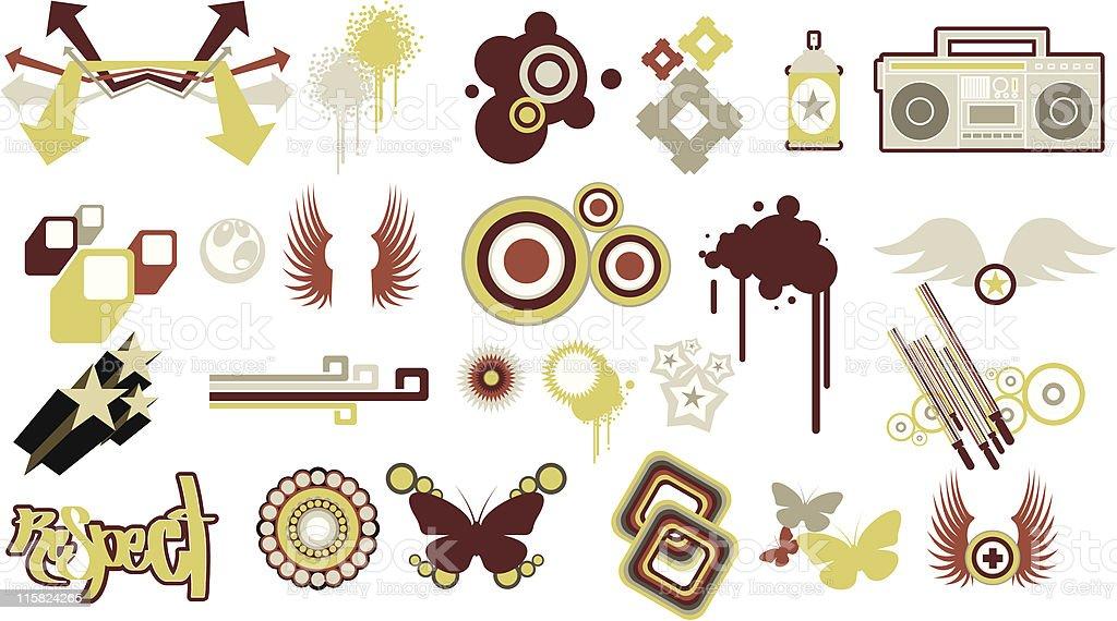 Design Elements 2 royalty-free stock vector art