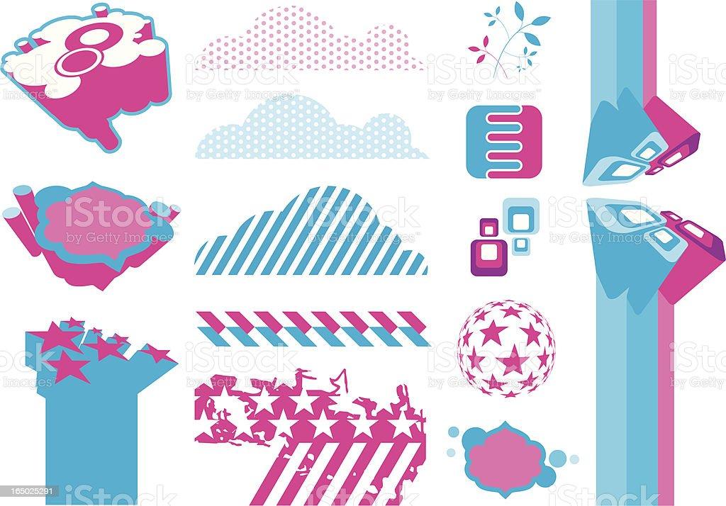 Design elements 8 royalty-free stock vector art