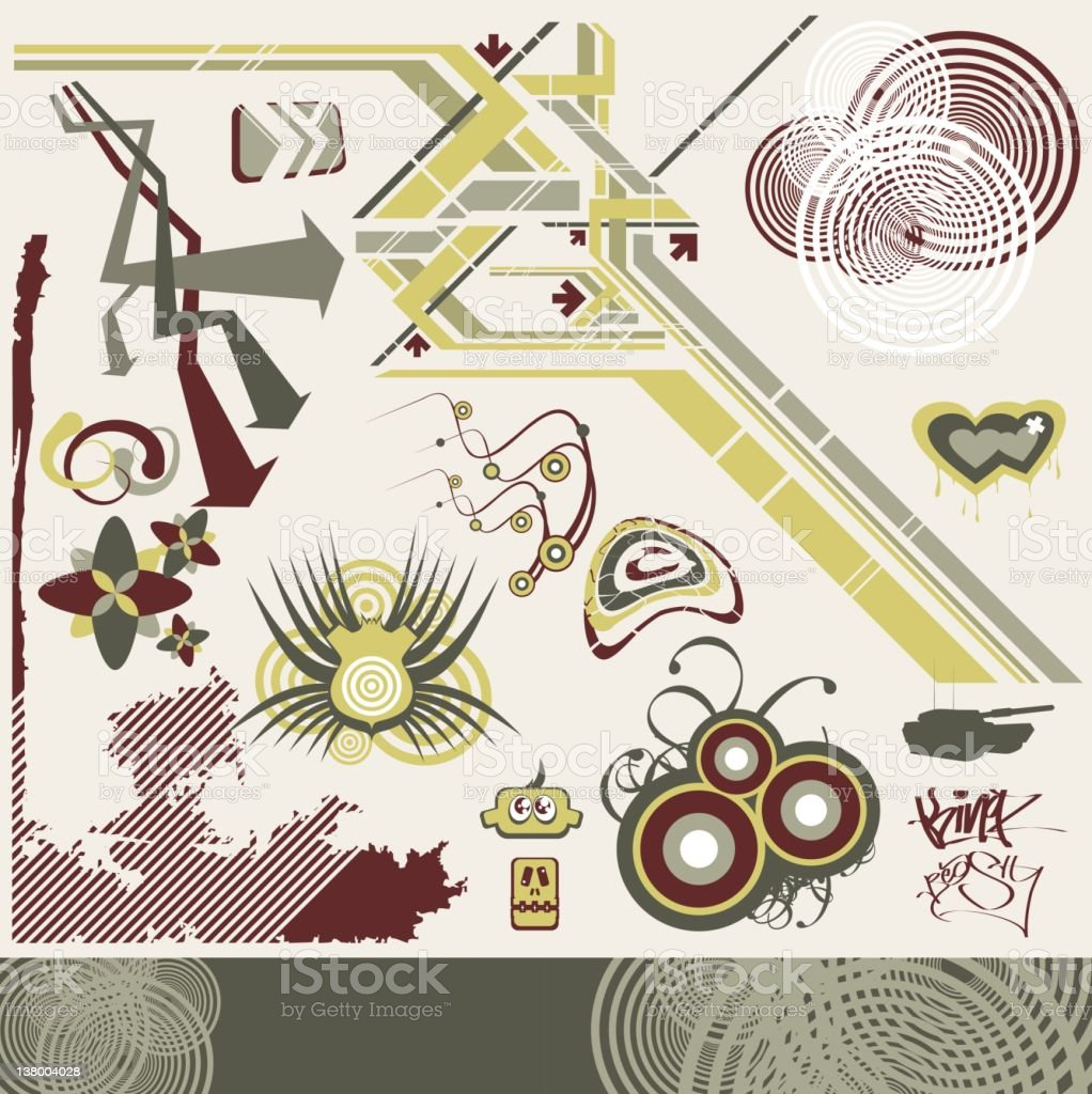 Design Elements 9 royalty-free stock vector art