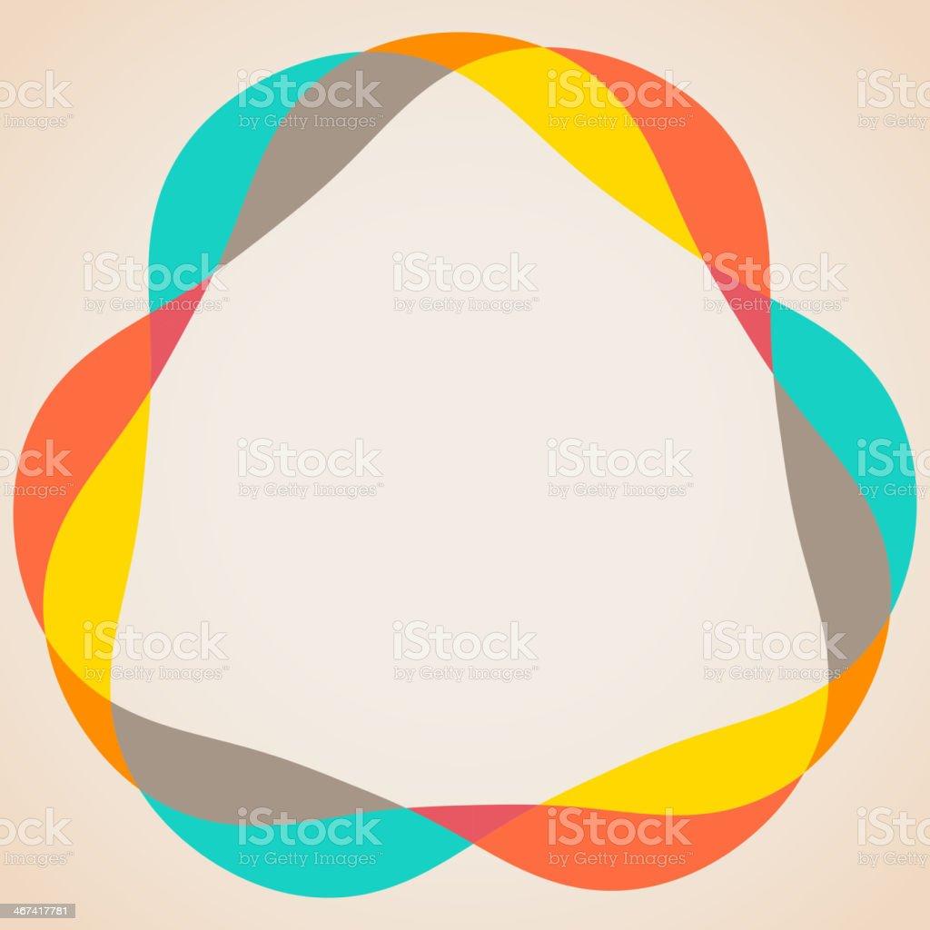 Design elements - colorful waves vector art illustration