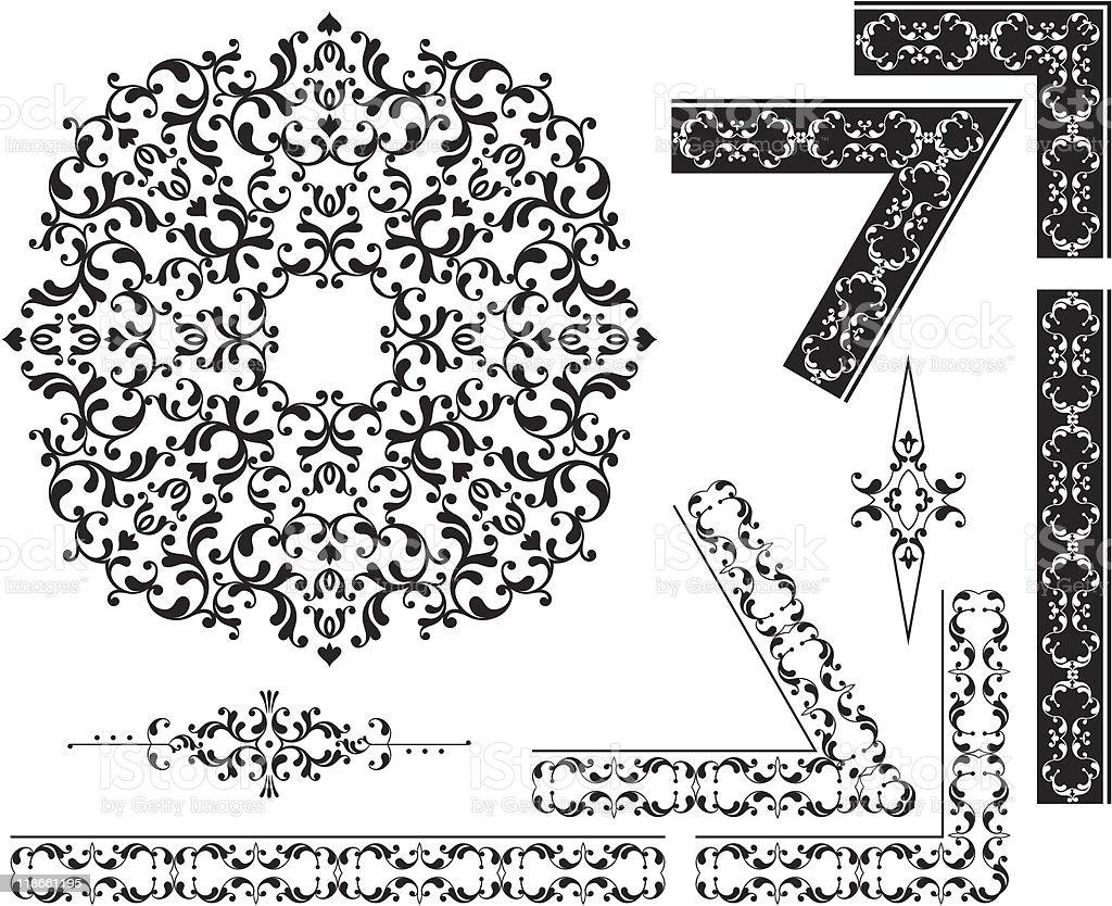 design elements royalty-free stock vector art