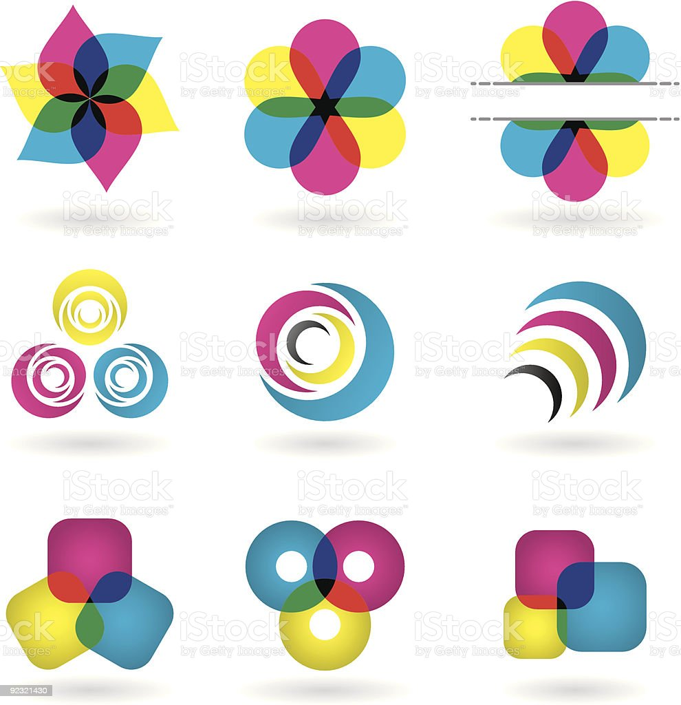 Design Elements vector art illustration