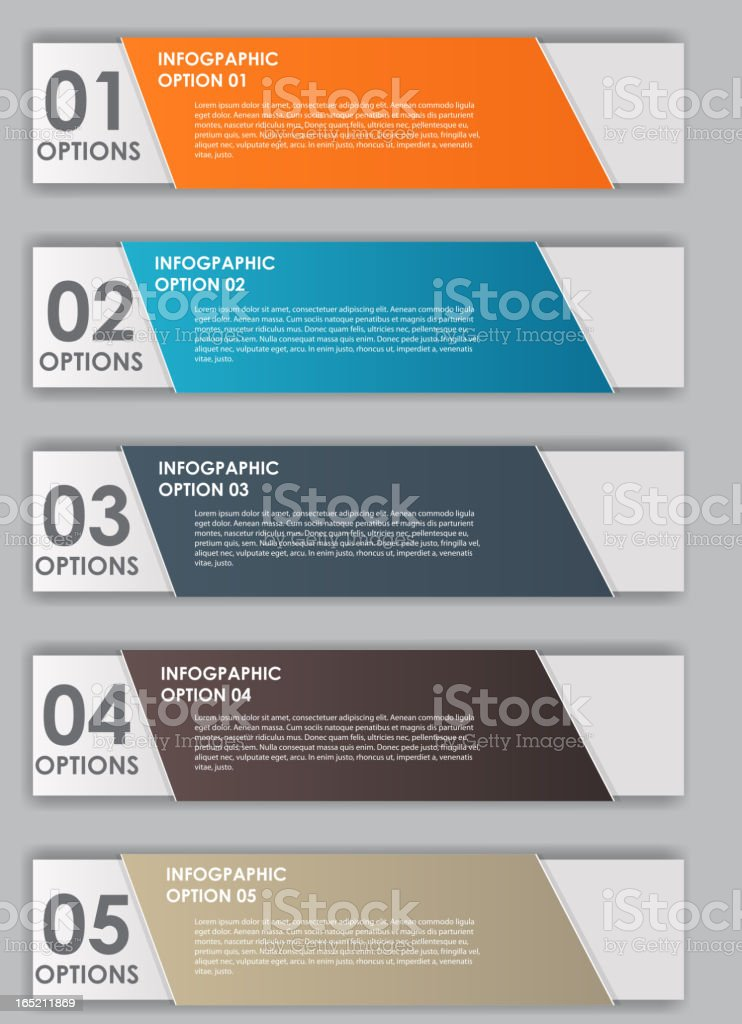 INFOGRAPHICS design elements vector illustration royalty-free stock vector art
