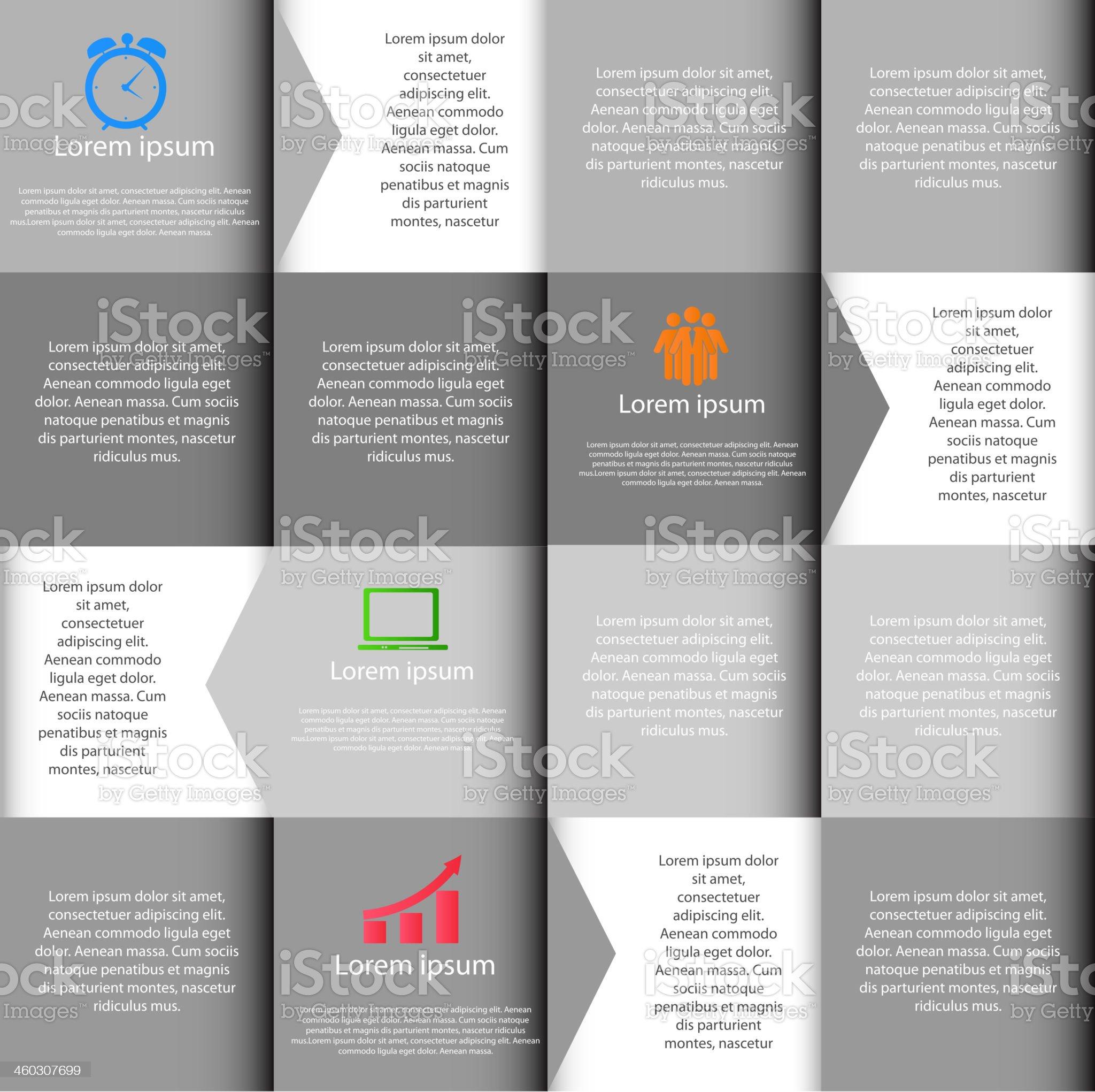 INFOGRAPHICS design elements vector illustration royalty-free stock vector art