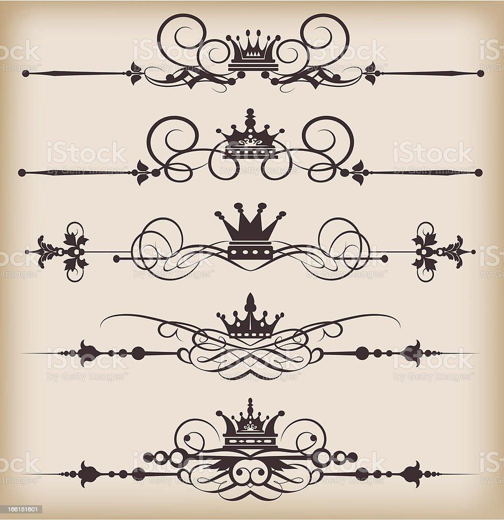 Design Elements Vector image - Set 22 royalty-free stock vector art