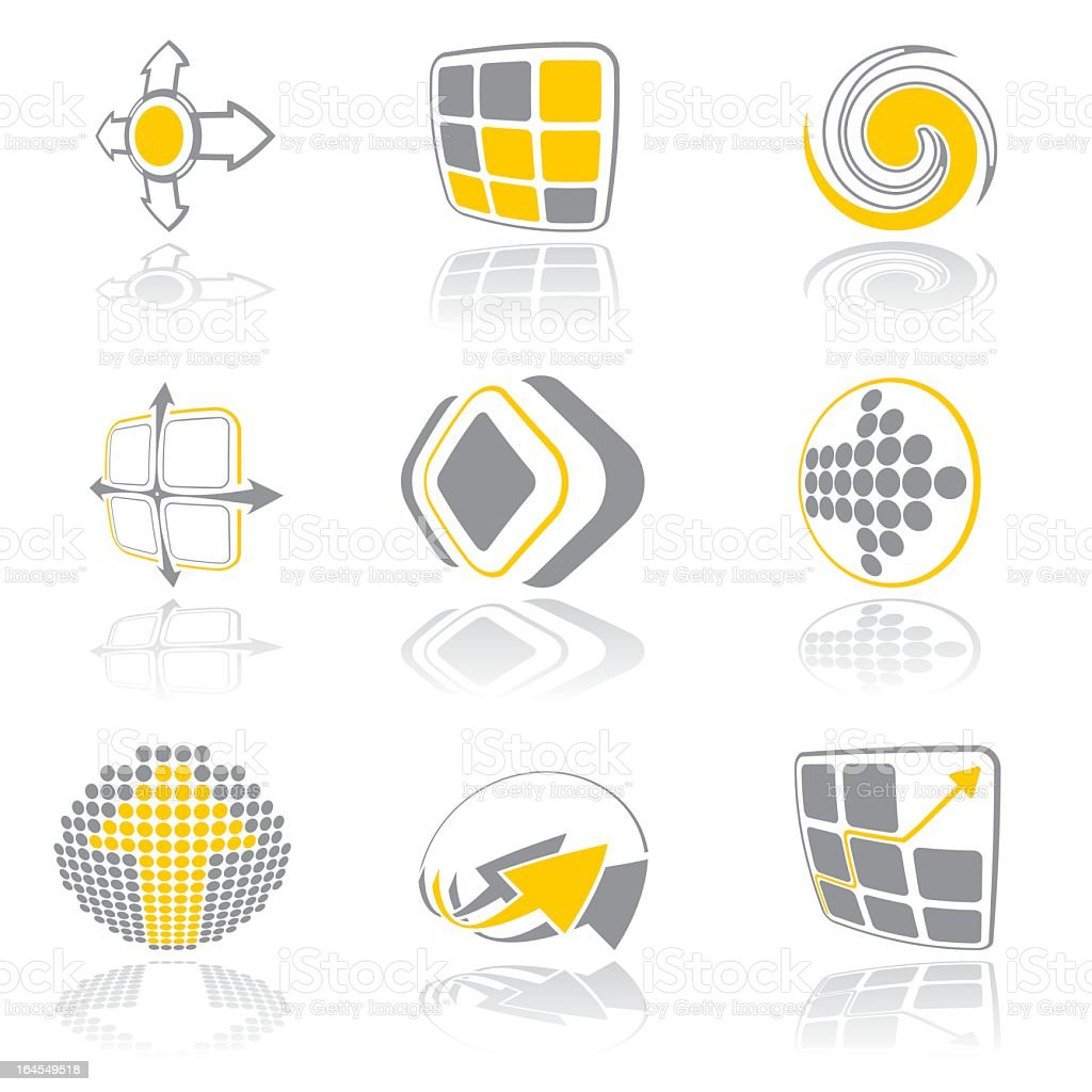 Design elements - vol 10 royalty-free stock vector art