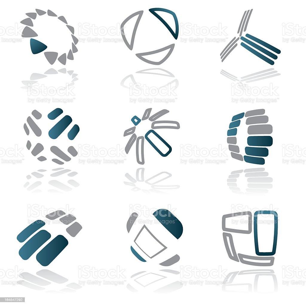 Design elements - vol 15 royalty-free stock vector art