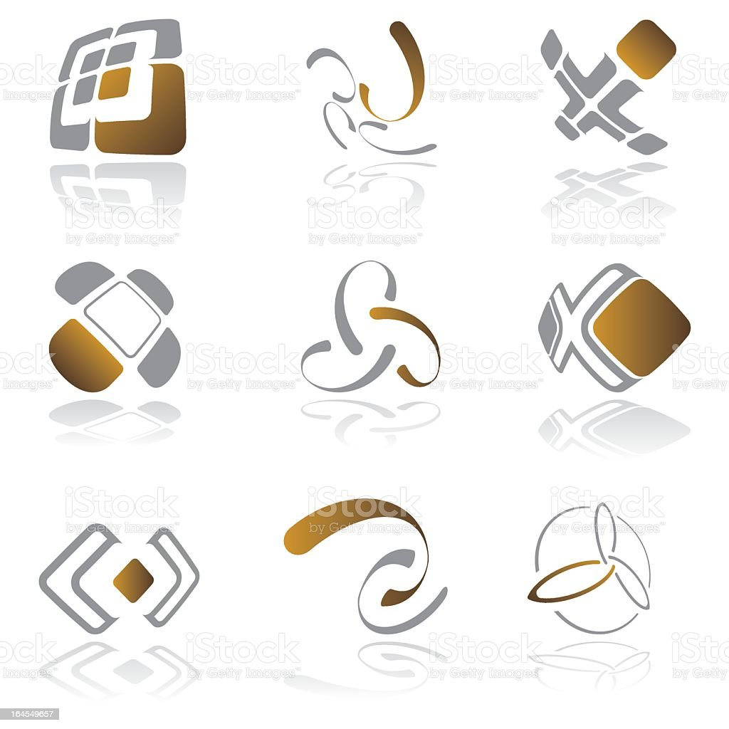 Design elements - vol 20 royalty-free stock vector art