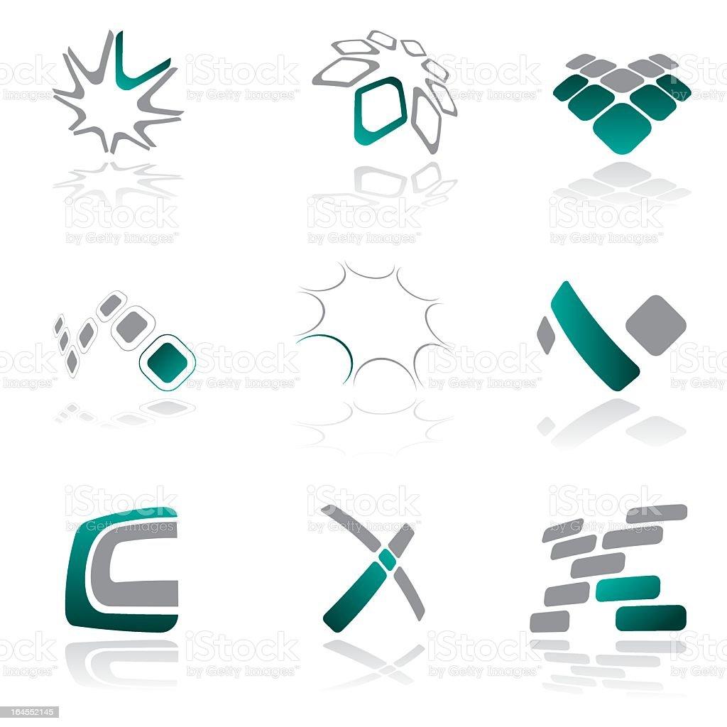 Design elements - vol 27 royalty-free stock vector art