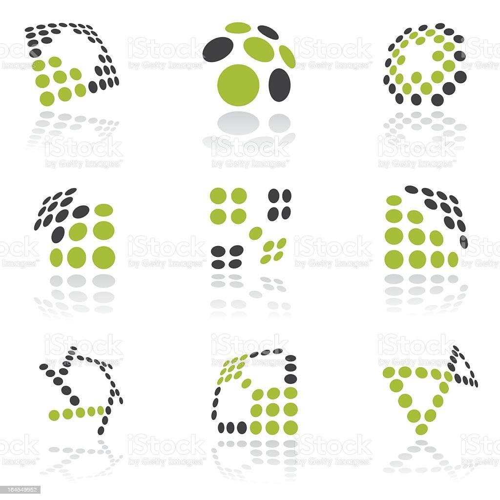 Design elements - vol 35 royalty-free stock vector art