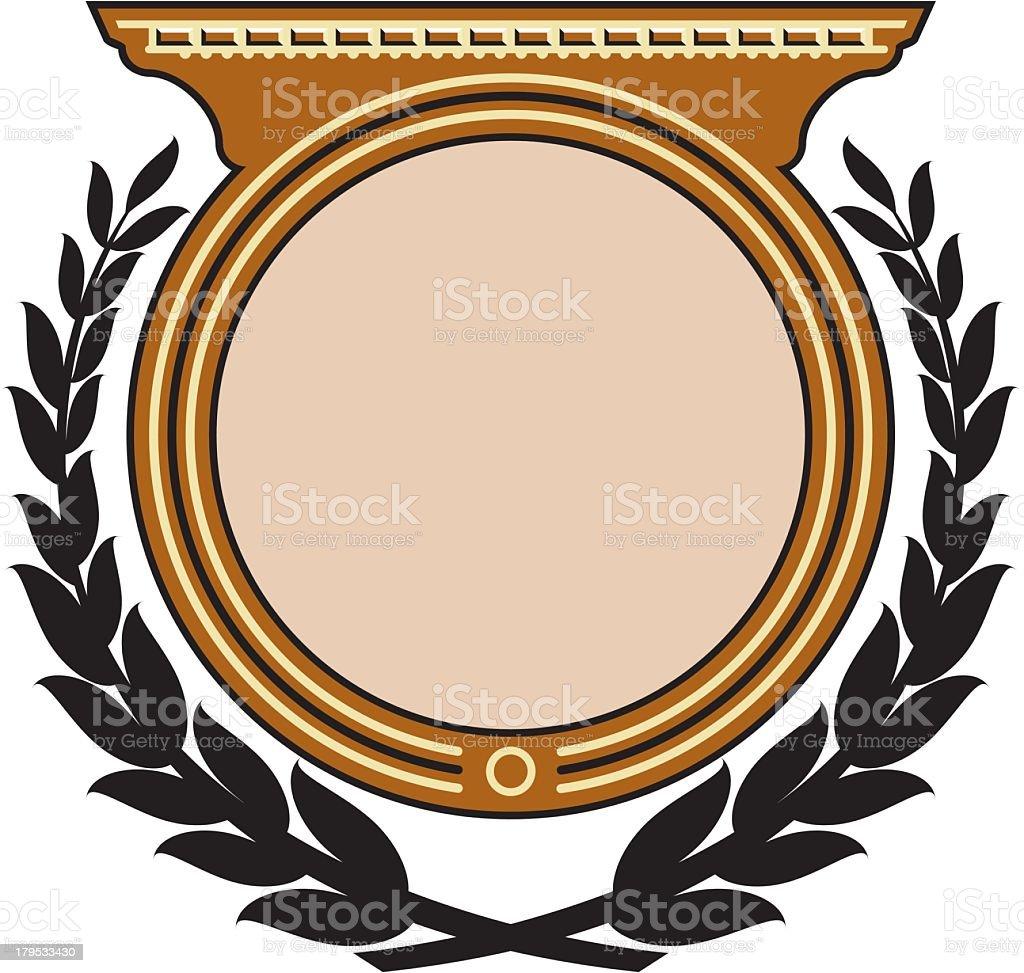 Design Emblem royalty-free stock vector art
