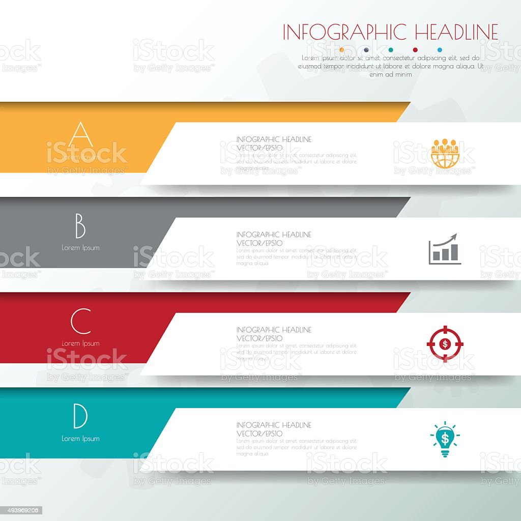 Design flat shadow template banners /graphic or website .Vector/ vector art illustration